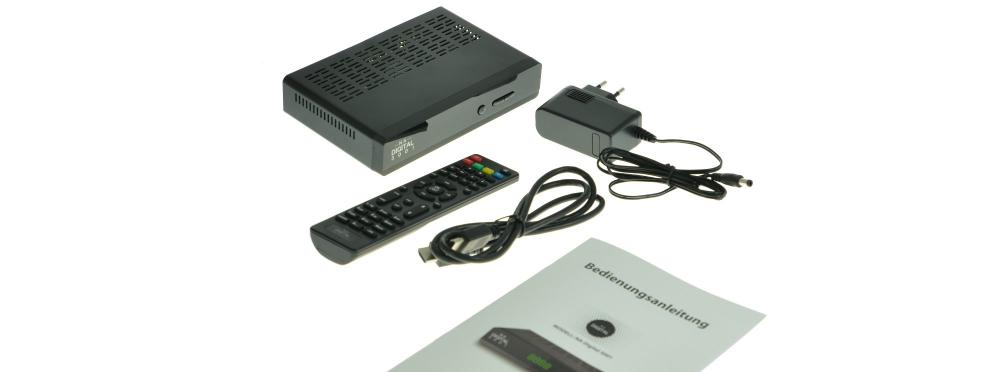 NA Digital 3001 mit OVP sprich HDMI, Fernbedienung und Beschreibung