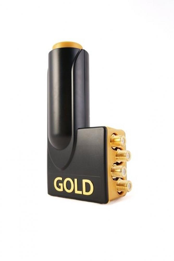 micro new gold edition quad lnb 0 1 db. Black Bedroom Furniture Sets. Home Design Ideas