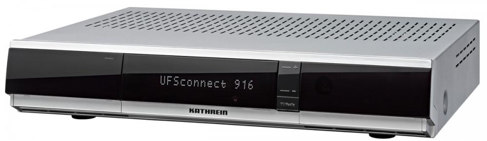 kathrein ufsconnect 916 silber hd smart tv sat receiver. Black Bedroom Furniture Sets. Home Design Ideas