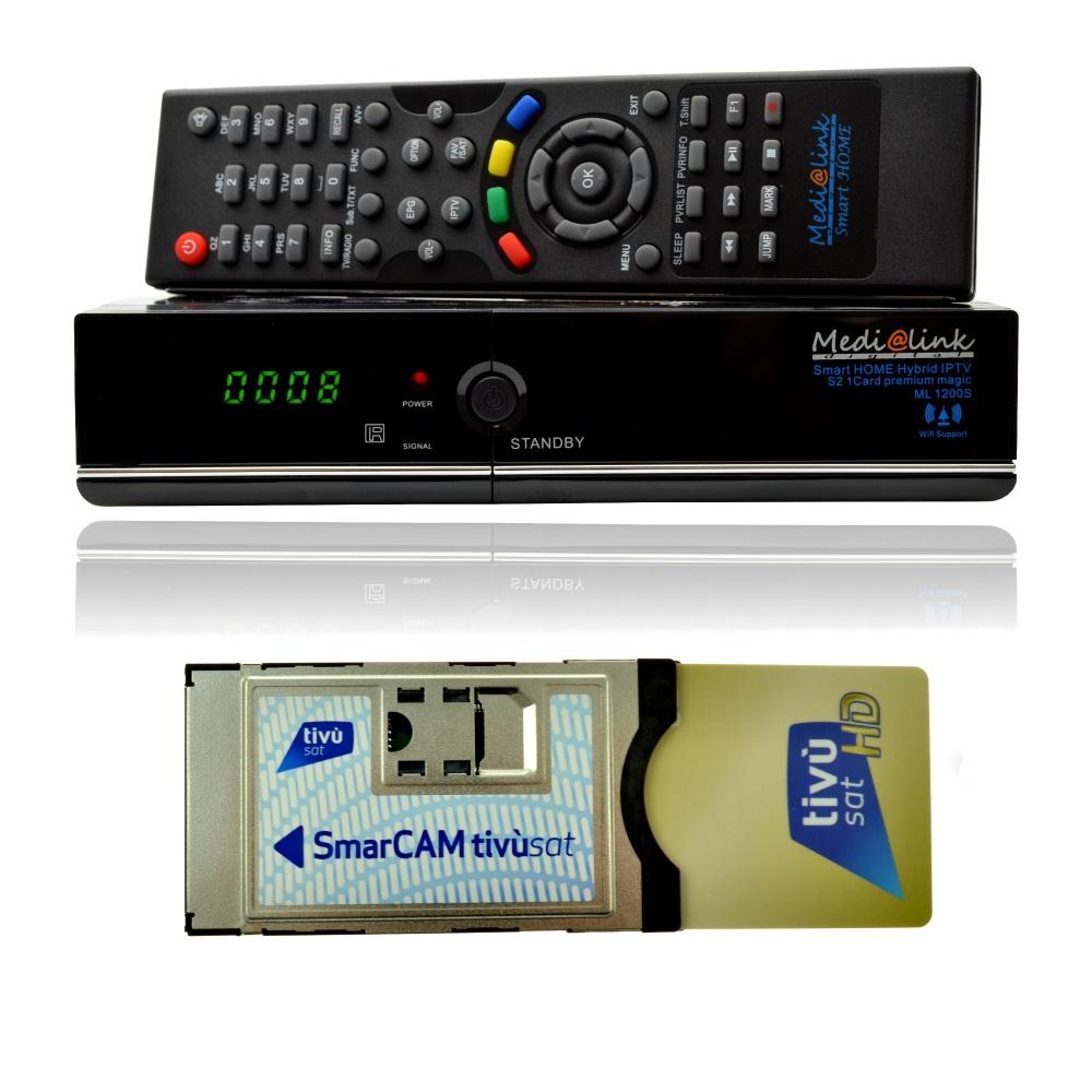 tivusat hd modul karte medialink receiver set mit italienische programmpakete ebay. Black Bedroom Furniture Sets. Home Design Ideas