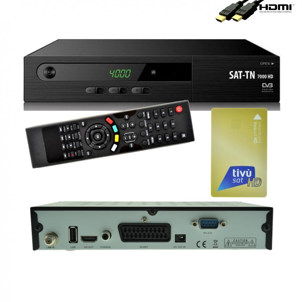 full hd sat receiver tivusat mediaset inkl smartcard rai digitaler 1080p hdmi mediaplayer mp3 usb. Black Bedroom Furniture Sets. Home Design Ideas