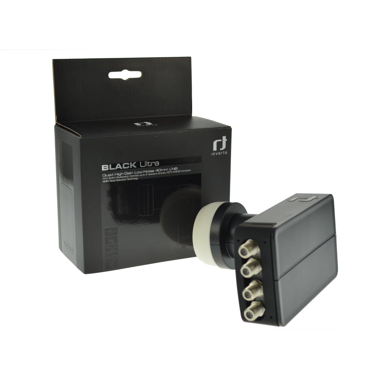 inverto black ultra quad lnb 40mm 0 2 db uln 4 teilnehmer uhd 4k r 22 90. Black Bedroom Furniture Sets. Home Design Ideas