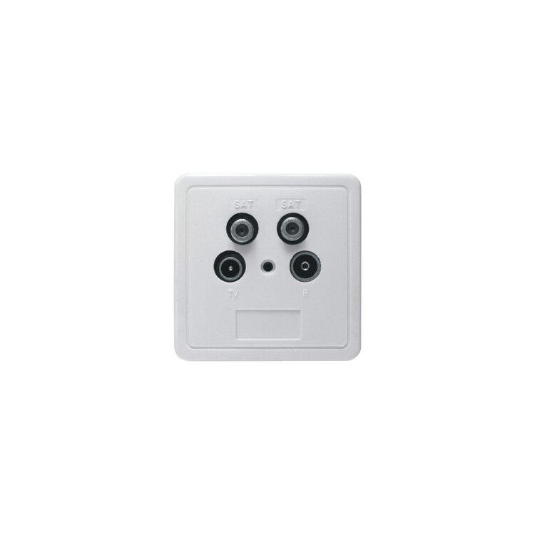 axing ssd 4 00 twin sat kabel tv radio modem dose mmd stichdose 2db r 9 90. Black Bedroom Furniture Sets. Home Design Ideas