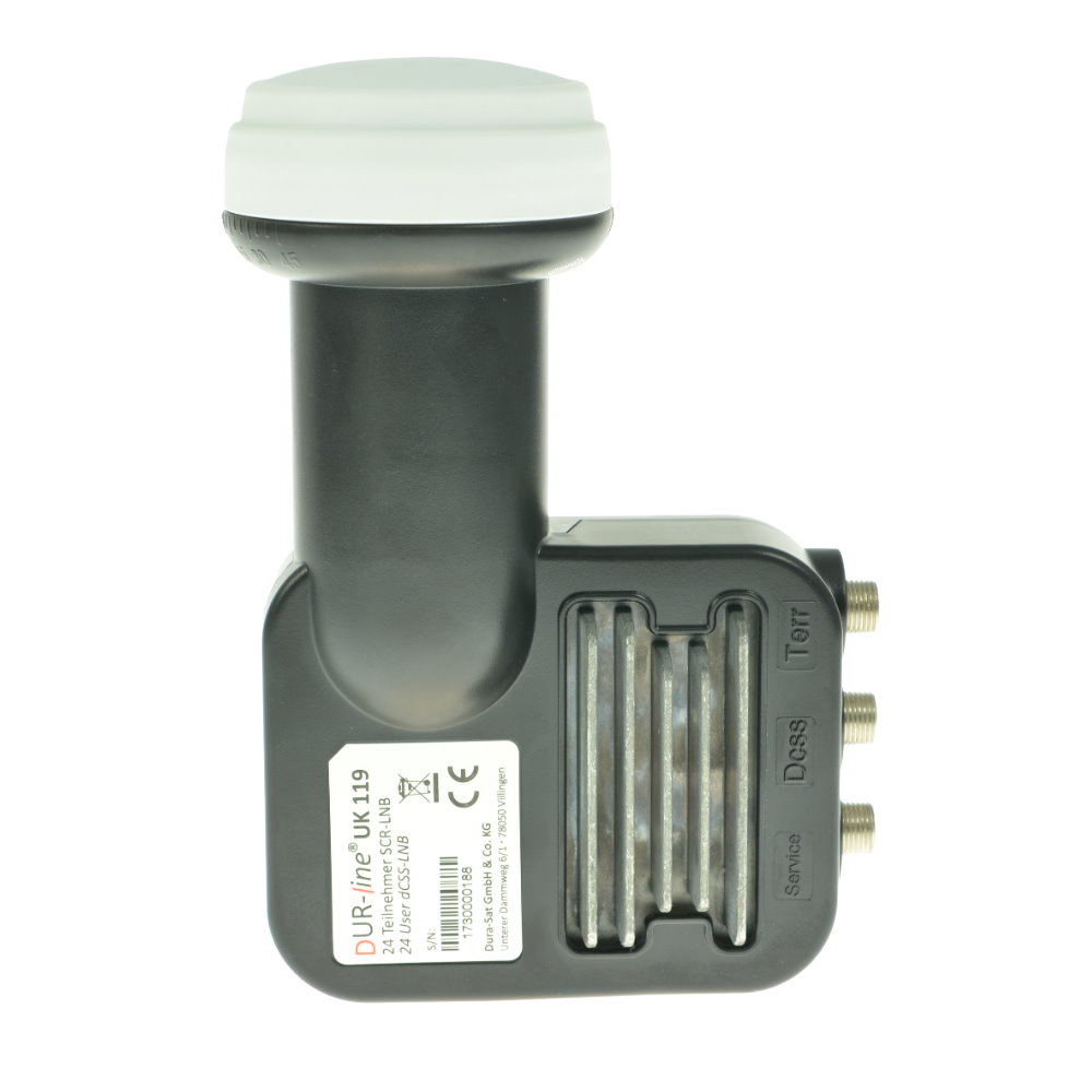 Für höhere Stabilität hat der Hersteller eine Passive Kühlung eingebaut. Dadurch ist eine Überhitzung der Technik im LNB ausgeschlossen.